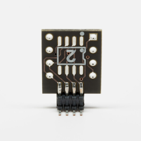 BrownDog 031101A Single to Dual Op Amp Adapter Reverse View