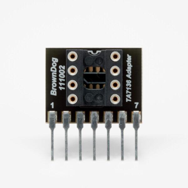 BrownDog 111002 TA7136AP Upgrade Adapter With Socket Installed