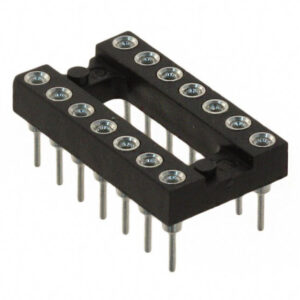 Mill-Max 14 pin DIP Socket